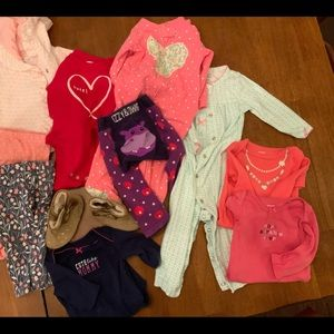 9-12 months lot girls clothing